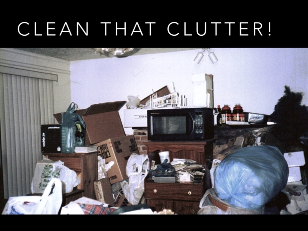 clean your clutter Center Street Lending