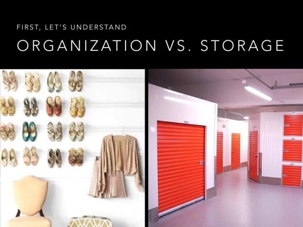 storage vs organization center street lending